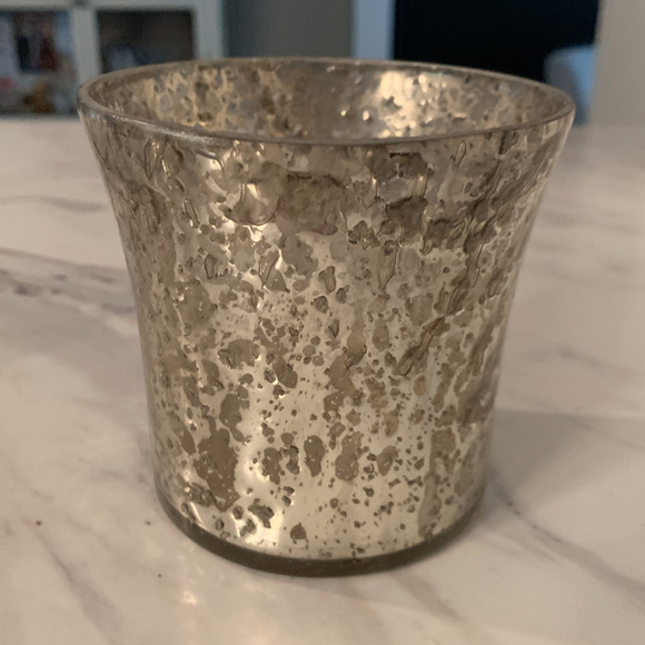 Pier 1 Other - Pier 1 mercury glass candle holder